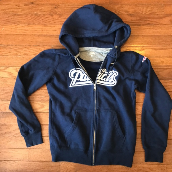 4b29219468b33 Nike NFL New England Patriots Zip Up Hoodie Medium.  M 5b771f399e6b5bfcfff8ff05